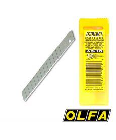 Lames acier STANDARD 59° pour cutters 9mm