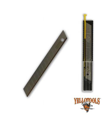Lames TITANE 59° pour cutters 9mm (10 lames)