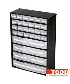 Casier à vis métallique 31 tiroirs