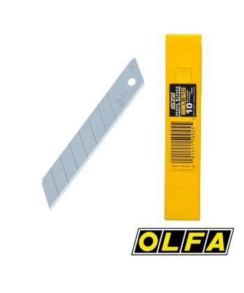 Lames acier pour cutters 18mm - étui 10 lames