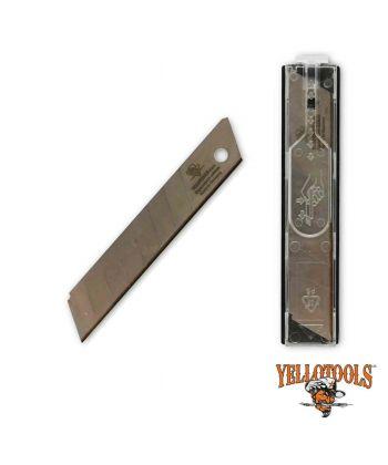 Lames TITANE  18mm - étui 10 lames