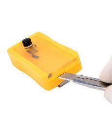 Boitier de sécurité casse lames PRO HD - plastique