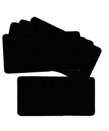 pack de 5 feutrines VELOURS fine (largeur 10cm)