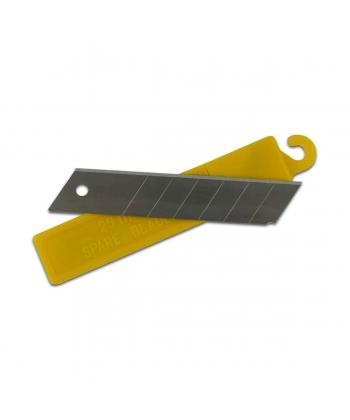 Lames acier pour cutters 9mm, 18mm et 25mm