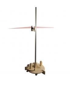 Laser d'aligement sur porte rouleau mobile