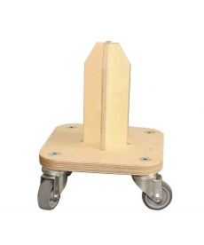 Ratelier mobile pour 1 rouleau (150cm maxi)