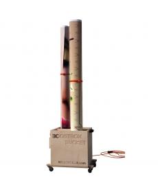 Séchoir mobile 1 à 4 rouleaux imprimés