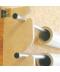 Rack mural 7 tubes (vinyls 156cm maxi) - pack de 2 montants