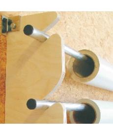 Tube acier pour rack de stockage