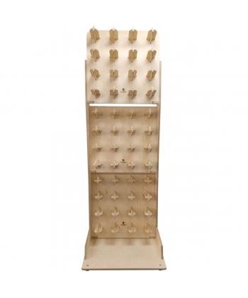 Ratelier de sol pour 24 à 48 rouleaux (62cm maxi)