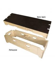 Kit 2 éléments banc/estrade