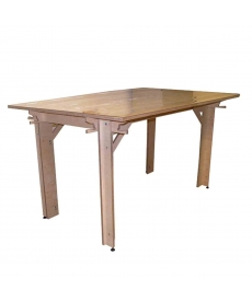 Table d'atelier modulable