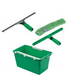 Kit basique pour nettoyage de vitres (set de 4)