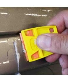 rasoir plastique de dés-adhésivage