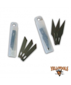 Lames scalpels 30° ou 59° (10 lames)