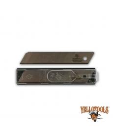 Lames TITANE pour cutters 18mm (10 lames)