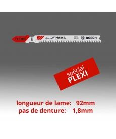 Lames  SPECIAL PLASTIQUE (PMMA-PVC-PC)