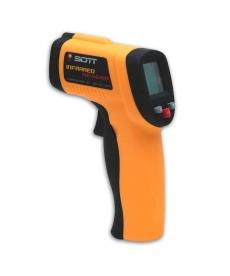 Thermomètre laser manuel
