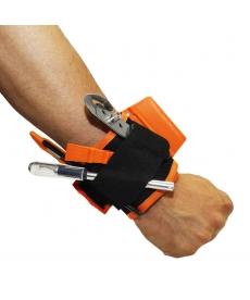 Bracelet porte outils magnétique avec velcro