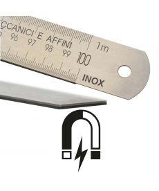Réglet inox magnétique