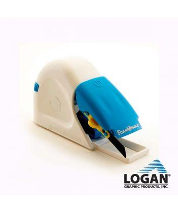 Souris Logan de COUPE DROITE GUIDEE pour carton mousse