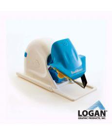 Souris Logan de COUPE en V GUIDEE pour carton mousse