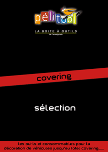 Catalogue Sélection COVERING - Pelitool